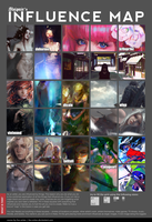 Influence Map - The Digital Painting edition. by roguesleipnir