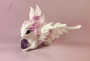 Amethyst rose dragon 1 by AlviaAlcedo