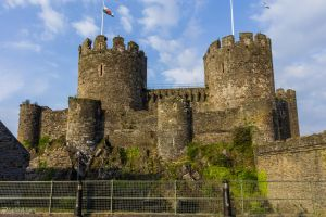 Conwy Castle - West by LordMajestros