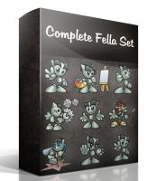 Complete Fella's Set by Twist3dDNA