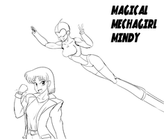 Magical Mechagirl Mindy by wbd