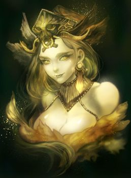 Dryad by watermother2004