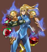 Samus enters the Battle! by Jheralde
