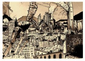 sketch city by mariahager