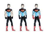 DC2 - Superboy sketches by herrenmedia