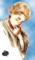 Padawan Anakin Skywalker by tallterror