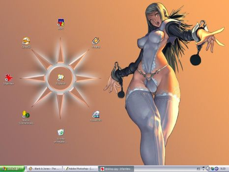 My desktop - Stage 2 by arcanux