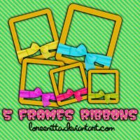 Frames Ribbons by Loreenitta