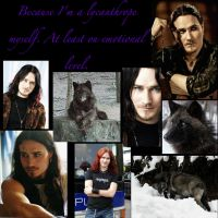 Tuomas the Lycanthrope by IcejCat
