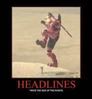 Headlines Demotivator by Grimful