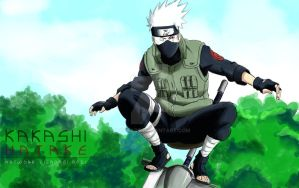 Kakashi :Quickie: by Iza-nagi