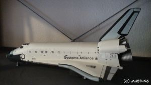 Systems Alliance Space Shuttle by MU5T4N6