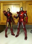 Hot Toys Iron Man comparison by Sithdemon77