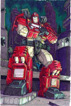 Ironhide 2.0 -- trying to fix the green by Ha-HeePrime
