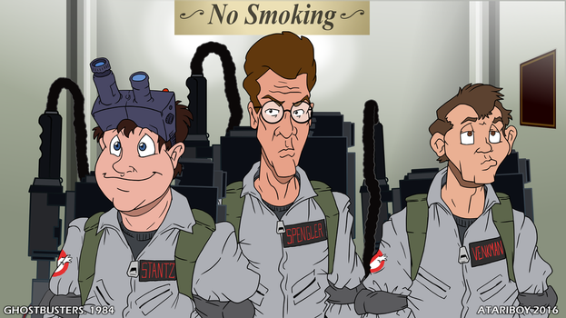 I Heart Ghostbusters. by Atariboy2600