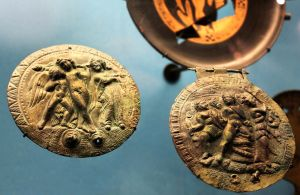 Etruscan Mirror Cases by phlufii
