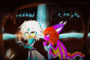 Neyra Candle by KenotheWolf
