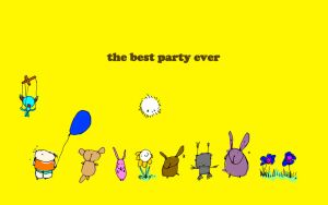 the best party ever by harajukumatt