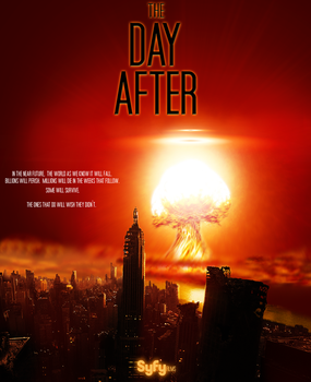 The day after 2, with typography by djjimmygee