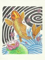 Koi Fish by mikelvalle