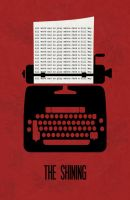 The Shining Minimalist Poster by miserym