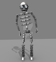 FNAF - Endoskeleton Model by hero13gamer