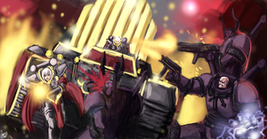 Warhammer 40k - The purge by Frost7