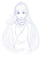 Quick Doodle: Mayia by Lintastic