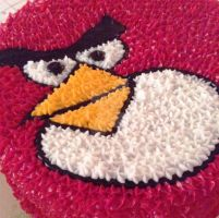 Angry Birds Cake by Bluesoul1