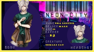 :.Neon City.: Noa Lester by LittleWereVamp
