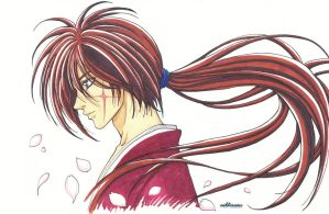 Kenshin - 15th anniversary by Neldorwen