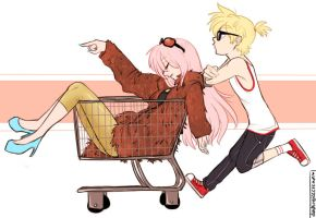 going thrift shoppin' by dashyice