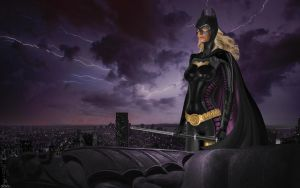 Batgirl Stephanie Brown by cmeza