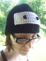 Ninja Crochet hat by YarnAlchemy