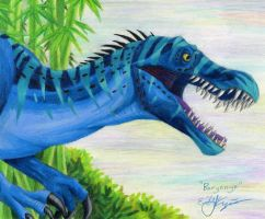 Baryonyx by Chewilicious