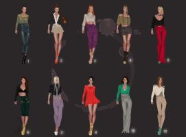 Fashion designs by Lideeh 4 by Lideeh