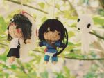 Princess Mononoke string doll set by Em-Ar-Ae