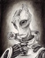 Mordin Solus - The Professor by efleck