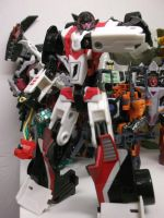 Fembot Fracture, a deadly Decepticon by forever-at-peace