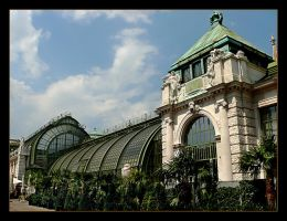 Old Conservatory In Wien by skarzynscy