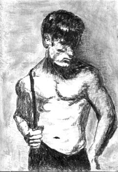 Drawing Male Torso 1991 #5 by ChangingMale
