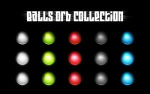 Glowing Balls Orb Collection by ZaLiTHkA