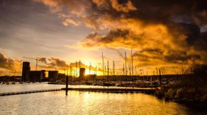 Cardiff Yacht Club by Horroromance