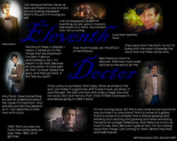 Eleventh Doctor: A Picture Worth a Dozen Quotes by Winters-Dawn1221