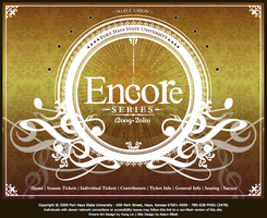 Encore Series Interactive by amelliott