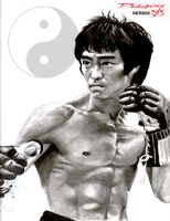 """BRUCE LEE 3 OF 3"" by MD-AVENT"