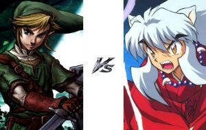 Link vs InuYasha Fight 38 by N0-oB213
