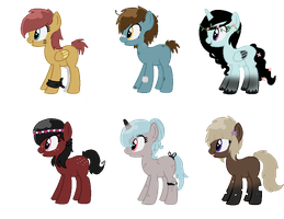 Song Inspired Pony Adopts CLOSED (Cheap) 2 by TiffanyBracelet