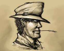The Hat Guy by Johanz