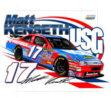 Matt Kenseth USG Shirt Design by Veeyo